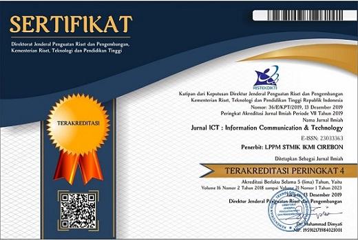 JICT Wadah Publikasi Ilmiah di STMIK IKMI Cirebon