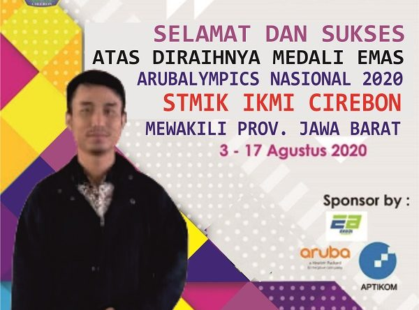 STMIK IKMI Sabet 7 Medali Arubalympics 2020