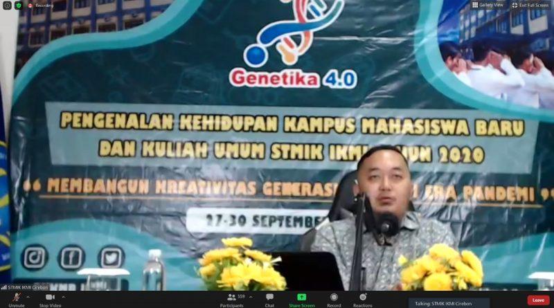STMIK IKMI Cirebon Gelar PKKMB Secara Daring