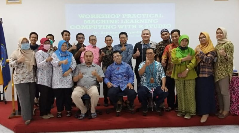 STMIK IKMI Gelar Workshop Practical Machine Learning