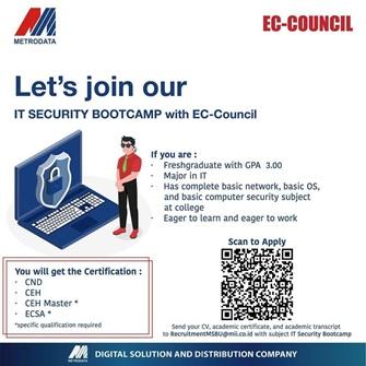 BOOTCAMP IT SECURITY BERSAMA EC-COUNCIL